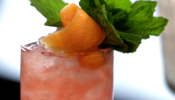 Rum Swizzle Cocktail