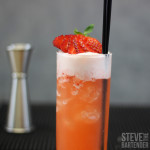 Strawberry Gin Fizz