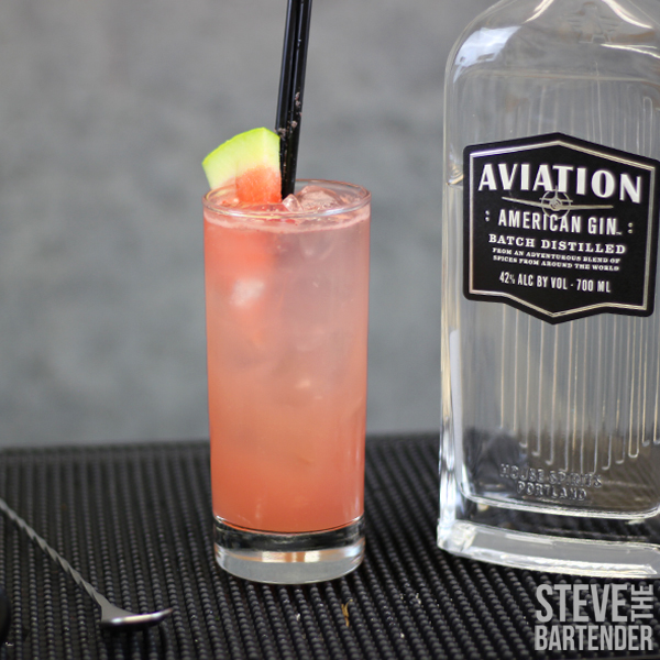Watermelon Cooler Cocktail