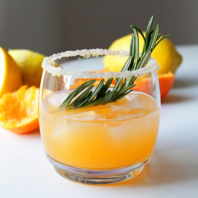 Winter Sun Cocktail