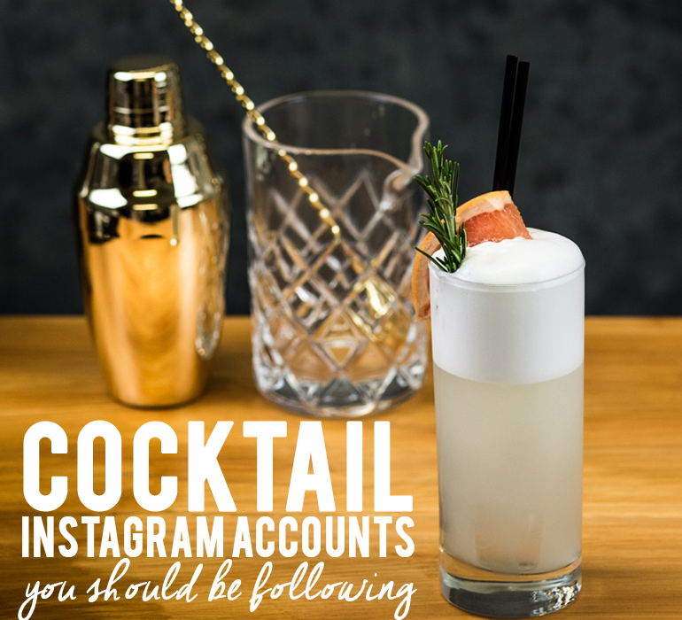Cocktail Instagram Accounts