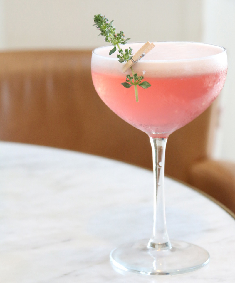 thyme to delight strawberry gin cocktail by kurtis bosley. Black Bedroom Furniture Sets. Home Design Ideas