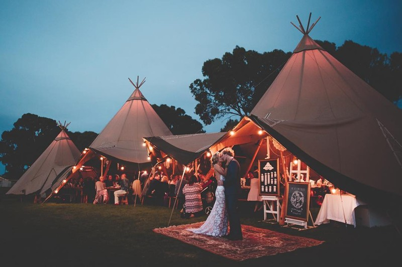 Tipi Festoon Lighting