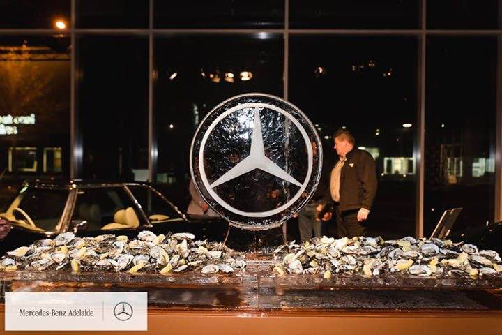 Mercedes Ice Sculpture