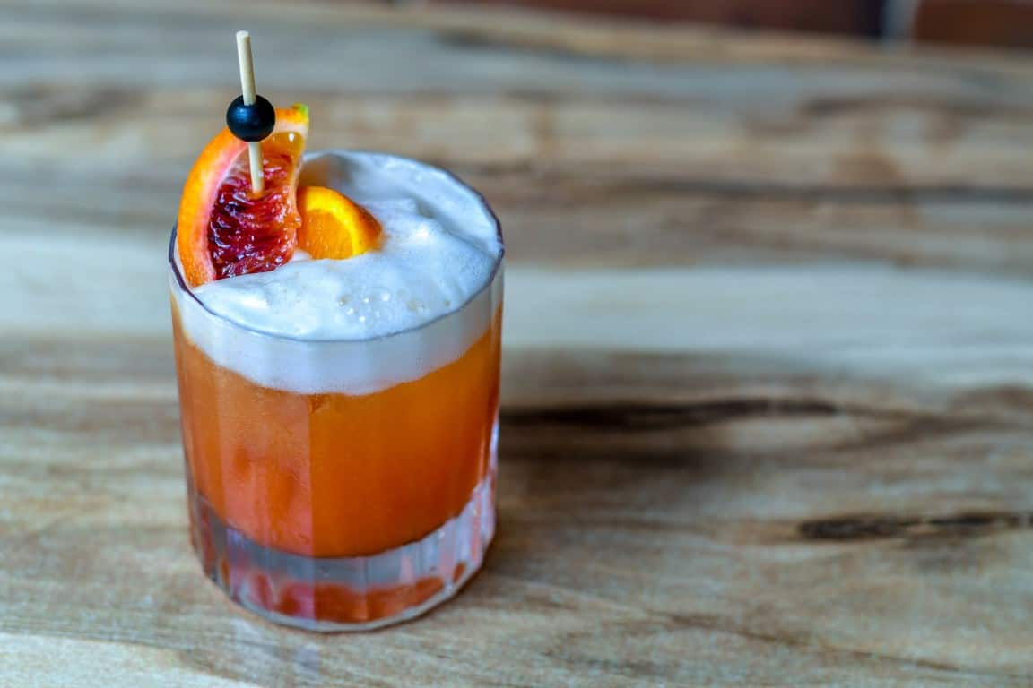 Bloody Orange Negroni
