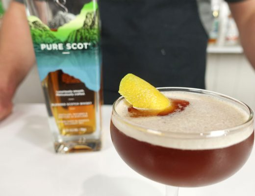 Blood Sand Cocktail