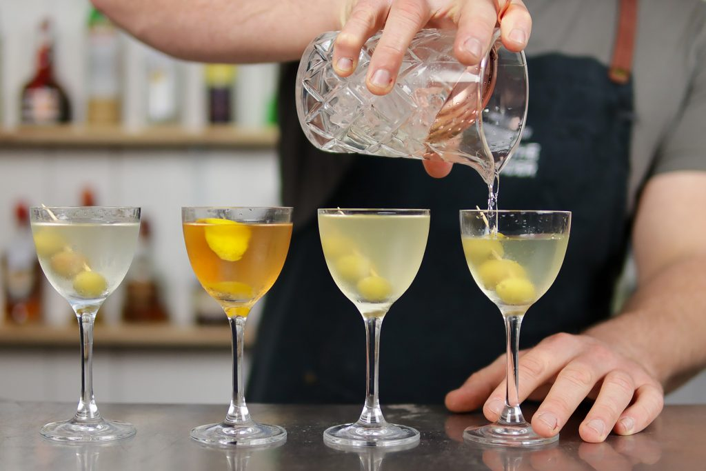 Recette Fifty Fifty Martini