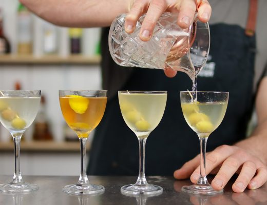 Fifty Fifty Martini Recipe